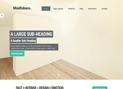 Mindfulness Genesis Child Theme for WordPress by ZigZagPress