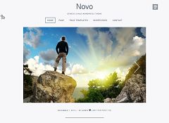 Novo Genesis Child Theme for WordPress by ZigZagPress