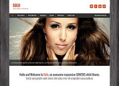 Solo Genesis Child Theme for WordPress by ZigZagPress
