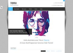 Tequila Genesis Child Theme for WordPress by ZigZagPress