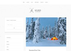 Xplorer Genesis Child Theme for WordPress by ZigZagPress