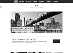 Zen Genesis Child Theme for WordPress by ZigZagPress