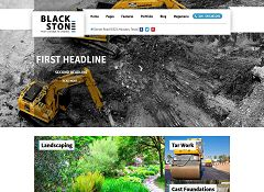 Blackstone WordPress Theme by 7Theme