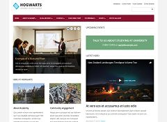 Elementary WordPress Theme by Academia Themes