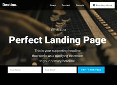 Destino WordPress Theme by BizzThemes