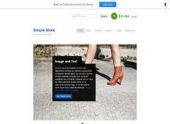 Simple Store WordPress Theme by BizzThemes