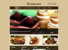 Restaurant WordPress Theme by Clover Themes
