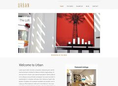 Urban WordPress Theme via Creative Market