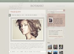 Botanic WordPress Theme by cssigniter