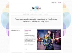 Femme WordPress Theme by cssigniter