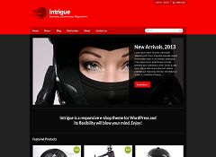 Intrigue WordPress Theme by cssigniter