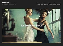 Memories WordPress Theme by cssigniter