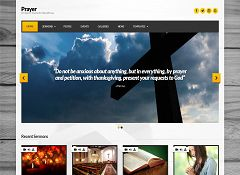 Prayer WordPress Theme by cssigniter