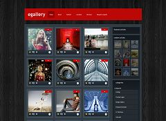 eGallery WordPress Theme by Elegant Themes
