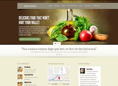 MyCuisine WordPress Theme by Elegant Themes