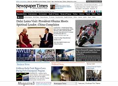 Newspaper Times WordPress Theme by Magazine3