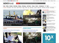 NewsWorld WordPress Theme by Magazine3
