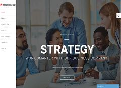AT Corporation Joomla Template via MOJO Marketplace