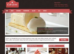 Cafe House WordPress Theme via MOJO Marketplace