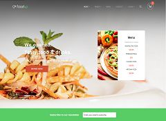 FoodUp WordPress Theme via MOJO Marketplace
