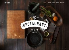Foody WordPress Theme via MOJO Marketplace
