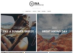 Ina WordPress Theme via MOJO Marketplace