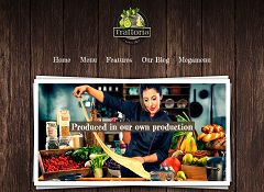 Trattoria WordPress Theme via MOJO Marketplace