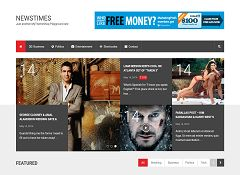 NewsTimes WordPress Theme by MyThemeShop