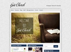 Epic Church WordPress Theme by Organized Themes