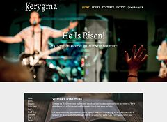 Kerygma WordPress Theme by Organized Themes