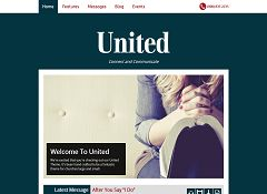 United WordPress Theme by Organized Themes