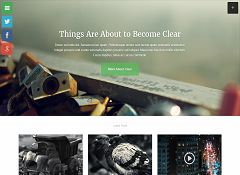 Clear News WordPress Theme by Press75