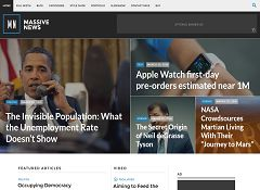 Massive News WordPress Theme by Press75