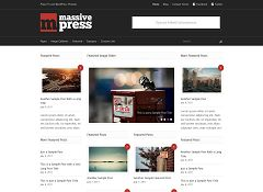 Massive Press WordPress Theme by Press75