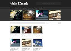 Video Elements WordPress Theme by Press75