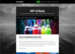 WP-Scribely WordPress Theme by Solostream