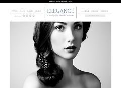 Elegance Genesis Child Them for WordPress by StudioPress