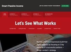 Smart Passive Income Pro Genesis Child Theme for WordPress by StudioPress