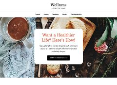 Wellness Pro Genesis Child Theme for WordPress by StudioPress