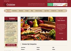 Cuisine WordPress Theme by Templatic