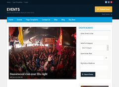 Events v2 WordPress Theme by Templatic