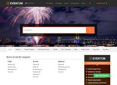 Eventum WordPress Theme by Templatic