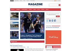 Magazine WordPress Theme by Templatic