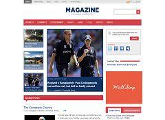 Magazine WordPress Theme by Templatic