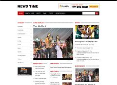 Newstime WordPress Theme by Templatic
