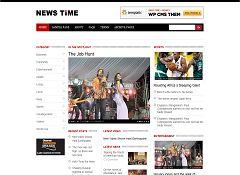 Newstime WordPress Theme by Templatic
