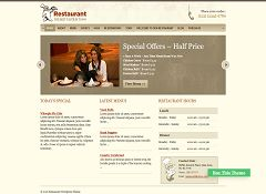 Restaurant WordPress Theme by Templatic