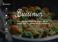 Cuisinier WordPress Theme by Tesla Themes