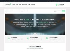OneCart WordPress Theme by Theme Furnace