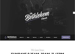 Bethlehem WordPress Theme via ThemeForest